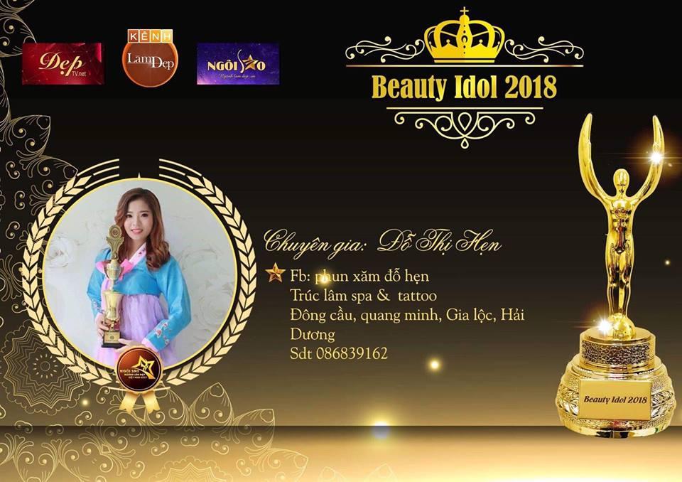 """Chuyên gia Đỗ Hẹn: """"Beauty Idol 2018 là sân chơi của những tài năng hàng đầu ngành phun thêu thẩm mỹ"""""""