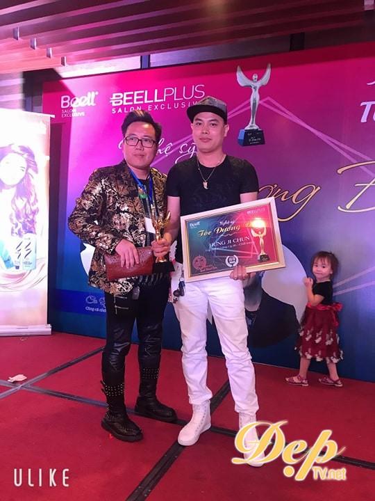 NTMT Thành Hưng nhận giải thưởng Top salon vàng uy tín chất lượng 2019