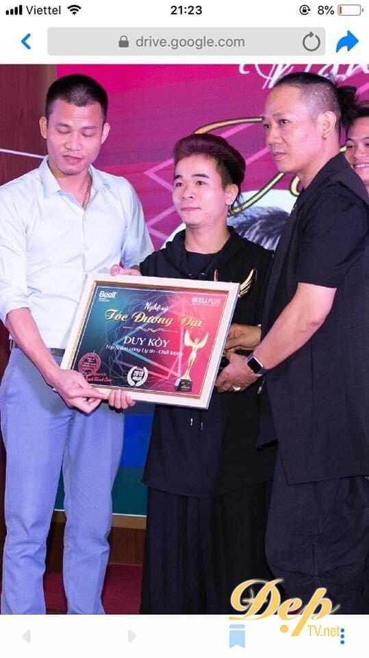 NTMT Khánh Duy và Salon Duy Koy nhận giải thưởng Top salon vàng uy tín chất lượng  2019