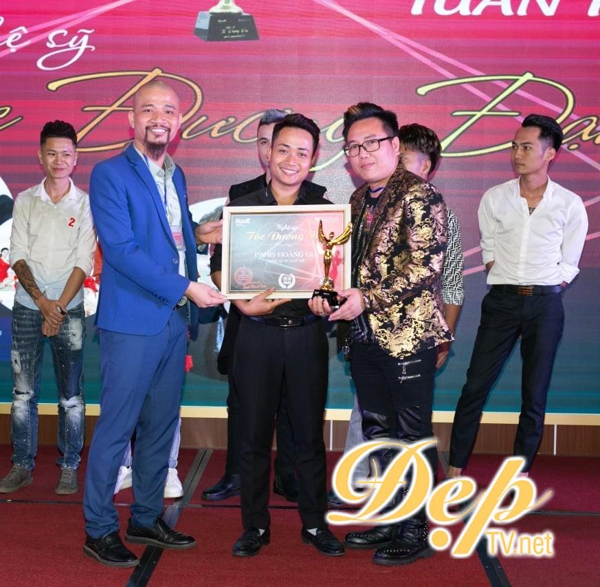 Nghệ sỹ tóc đương đại  2019: NTMT Vũ Thăng Long nhận giải thưởng Nghệ sỹ tóc trẻ xuất sắc nhất