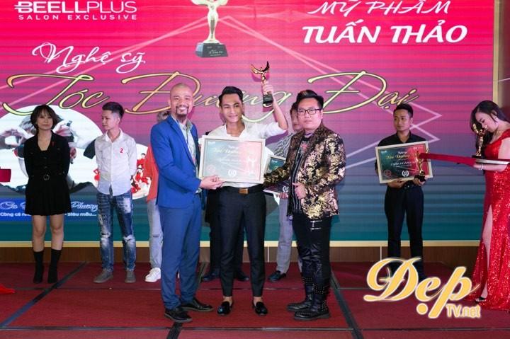 Viện tóc quốc tế Hoàng Gia đạt giải thưởng Nghệ sỹ trẻ xuất sắc nhất 2019