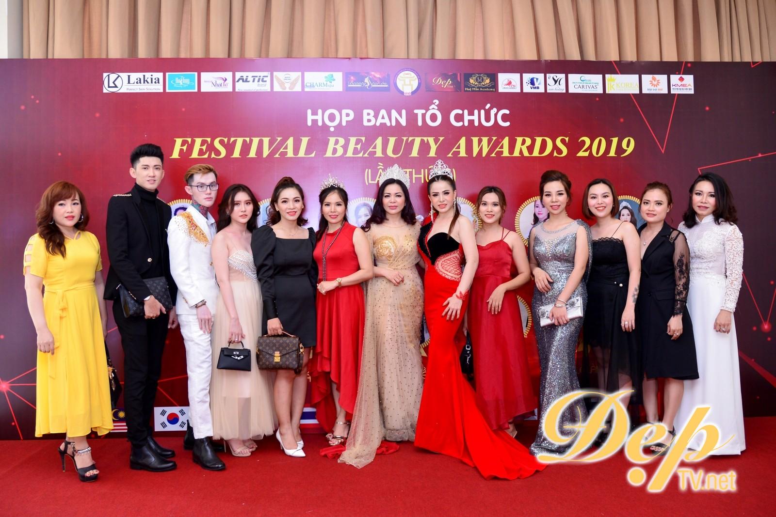 Họp ban tổ chức Festival Beauty Awards 2019 tại thành phố Hồ Chí Minh