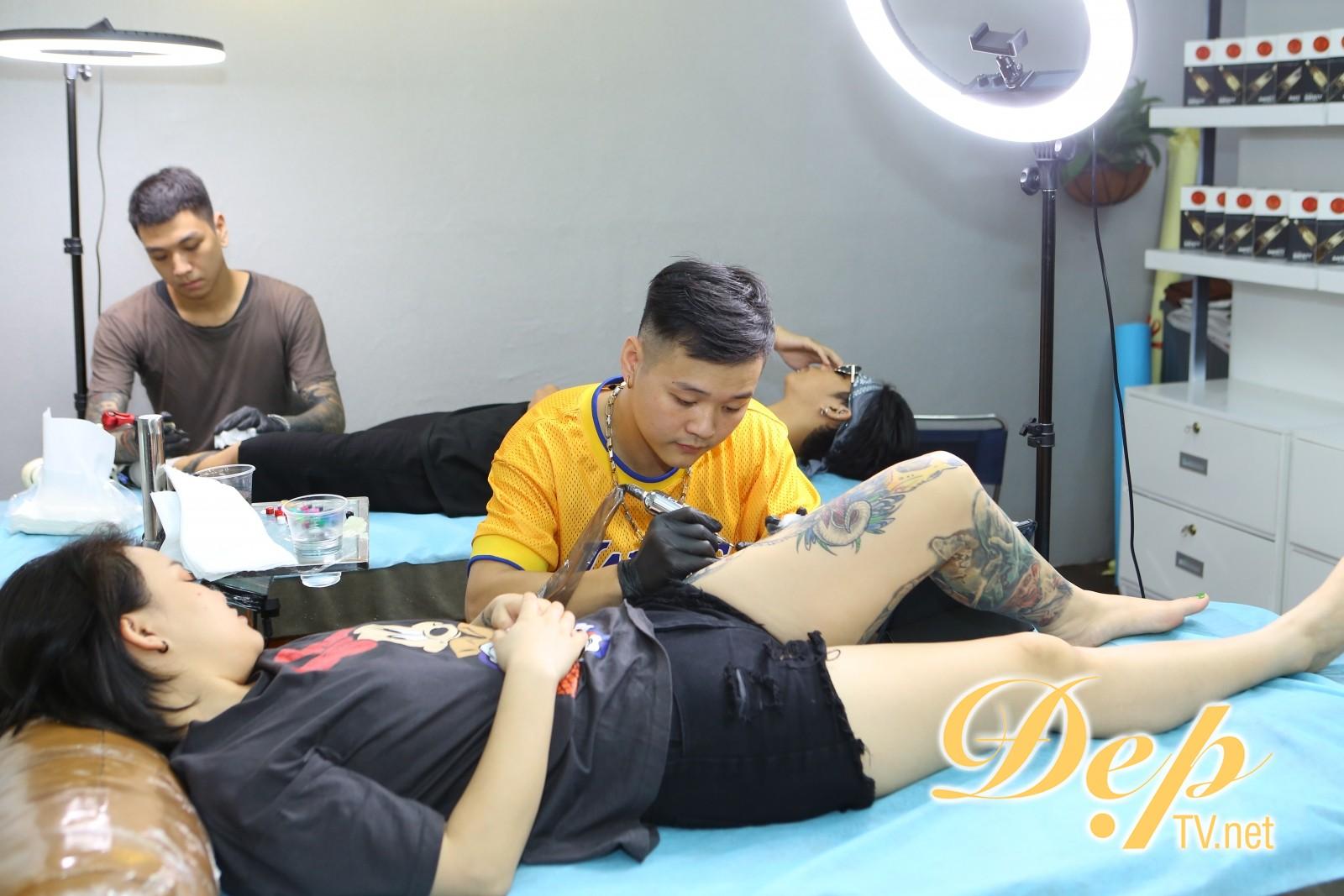 Viện thẩm mỹ Eve dẫn đầu xu hướng phun xăm kết hợp Tattoo