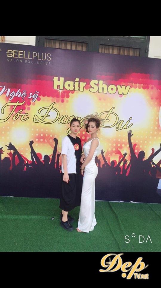 NTMT Mai Nguyễn đạt giải thưởng Nghệ sỹ tóc tài năng nhất Hair show Nghệ sỹ tóc đương đại 2019
