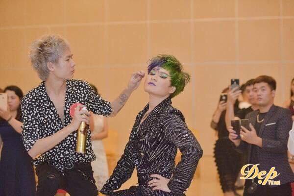 Nghệ sỹ trẻ xuất sắc nhất tại Hair show Nghệ sỹ tóc đương đại 2019 – NTMT ALR Hùng