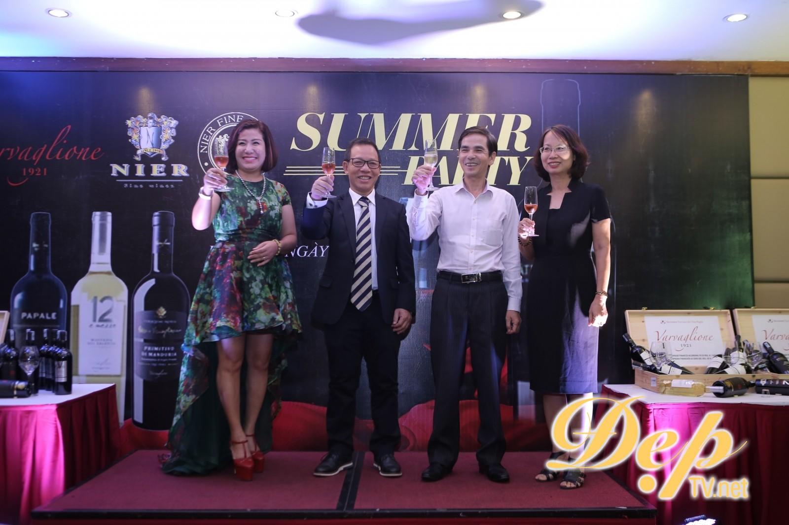 Nier FineWines Việt Nam tổ chức đại tiệc Party Summer 2019 tri ân khách hàng