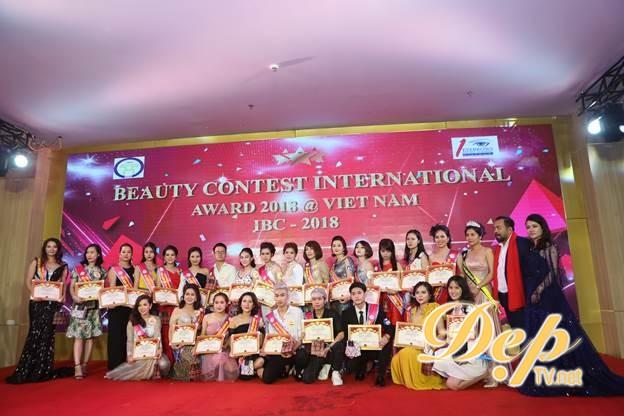Cuộc thi đẳng cấp uy tín hàng đầu châu Á - Beauty Contest International Award 2018 có sự mở màn thành công tại Hà Nội (Việt Nam)
