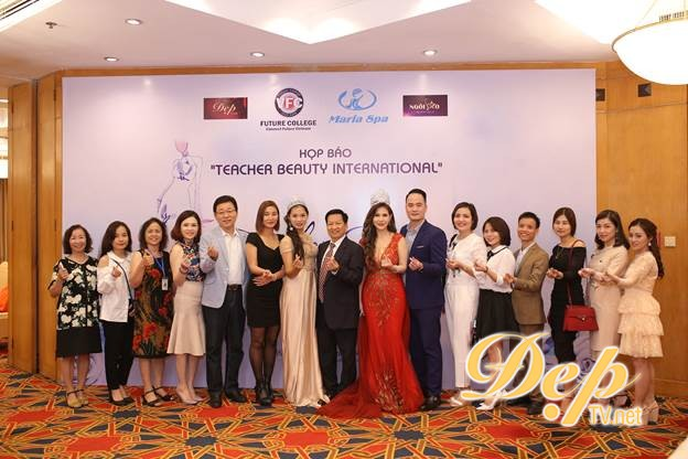 Họp báo Teacher Beauty International tại Khách sạn Hà Nội  - Chính thức khởi động mùa thi tài năng cho các nhà sư phạm nhân kỉ niệm 36 năm Ngày nhà giáo Việt Nam