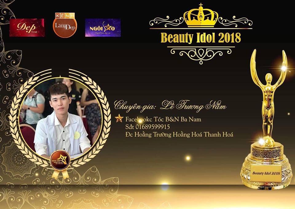 Chuyên gia Lê Trương Nam – Chàng trai trẻ và ước mơ khẳng định bản thân tại Beauty Idol 2018