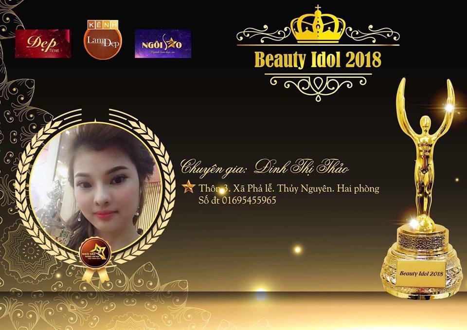 """Chuyên gia Đinh Thảo: """" Beauty Idol 2018 là cuộc thi làm đẹp đẳng cấp tôi tham dự năm nay"""""""