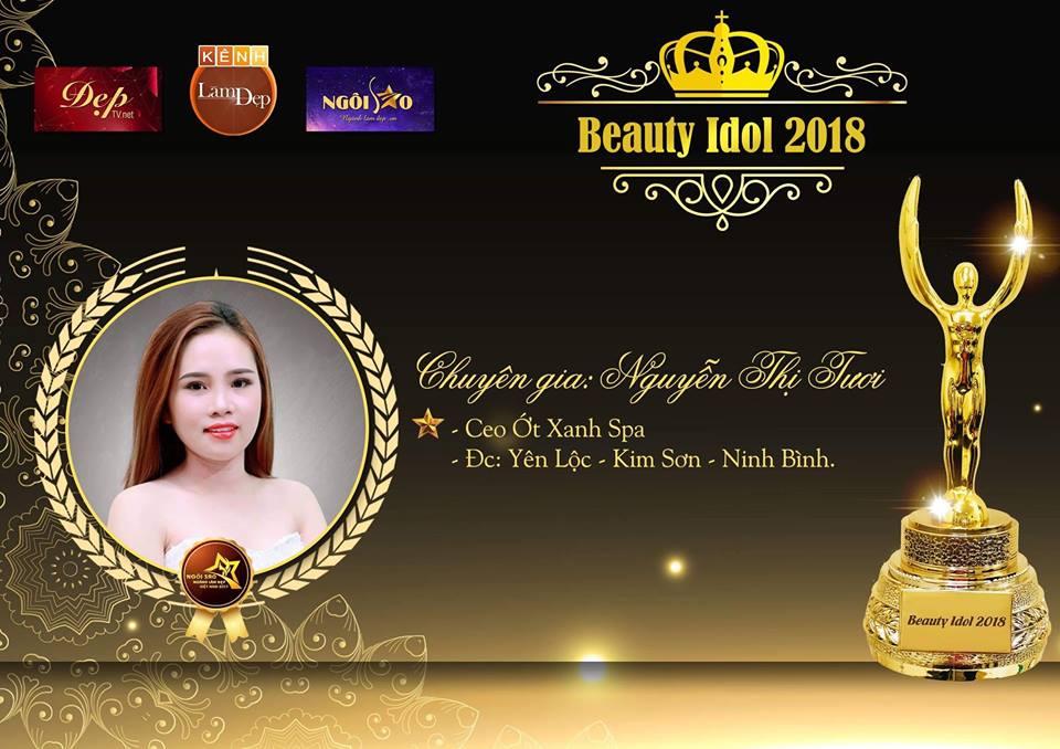 Tài năng trẻ của ngành làm đẹp Ninh Bình – Chuyên gia Nguyễn Thị Tươi thử sức tại đấu trường làm đẹp Beauty Idol 2018