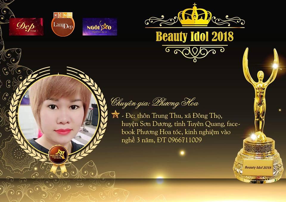 Tài năng phun thêu ngành làm đẹp Tuyên Quang - Chuyên gia Phương Hoa thử sức tại đấu trường làm đẹp Beauty Idol 2018